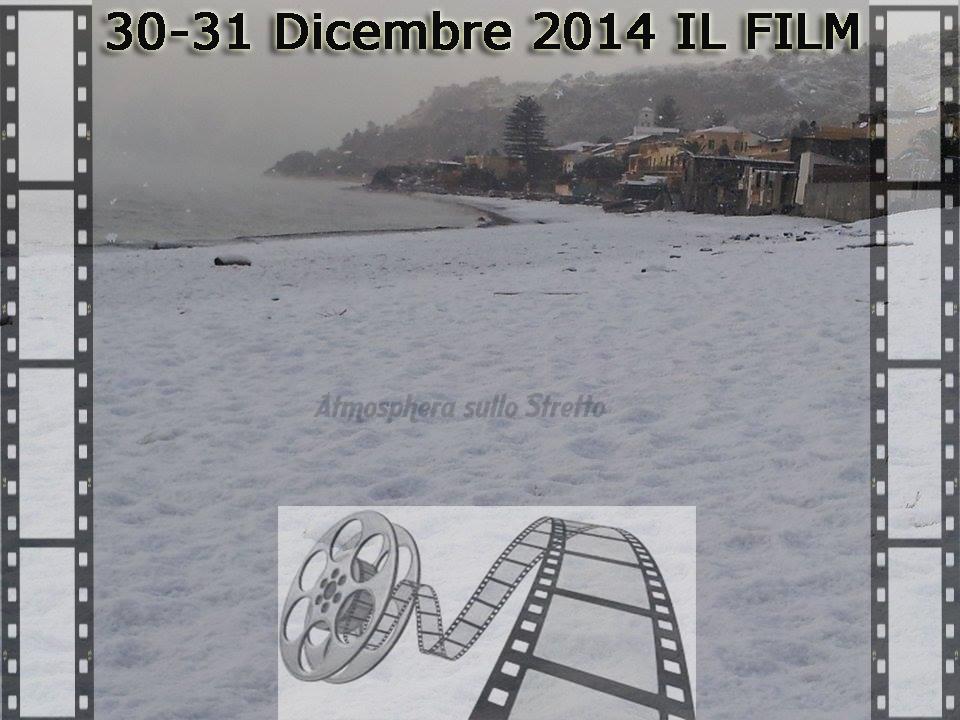 "30-31.12.2014 ""FILM DELLA NEVICATA STORICA NEL MESSINESE """