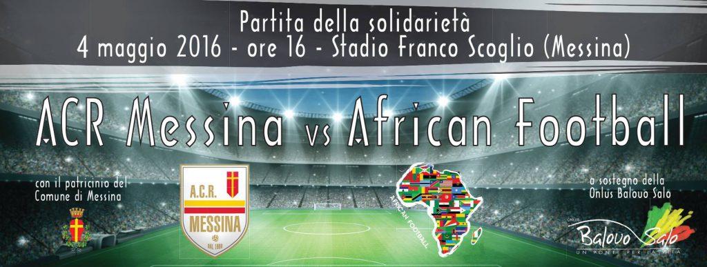 Mercoledì 4 maggio, partita di beneficenza allo stadio Franco Scoglio di Messina