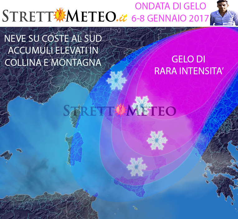 Neve a palate, paesi sommersi!