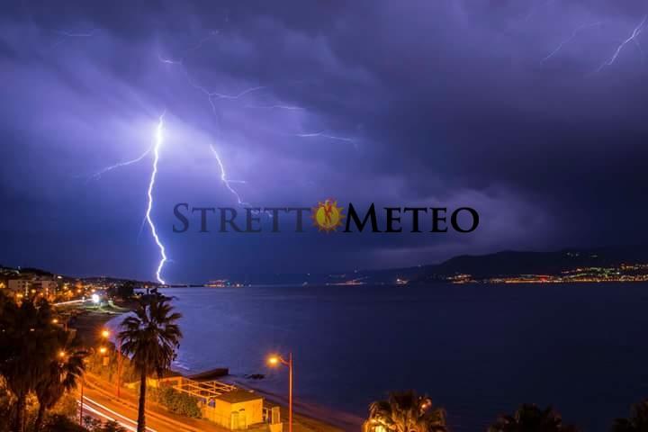 Imminente fase di forte maltempo. Coinvolta anche l'area dello Stretto di Messina.
