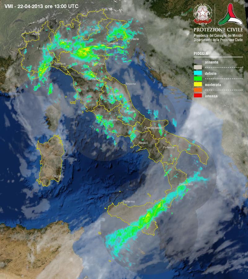 La settimana esordisce con la pioggia. Aria umida e variabilità nei prossimi giorni.
