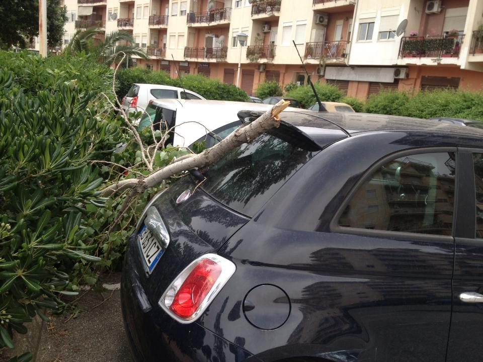 Sarà un Sabato nuovamente sciroccale. Altre foto dei danni in città.