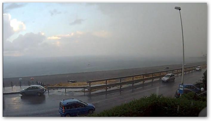 Altri video sempre da Santa Margherita delle forti piogge di Sabato