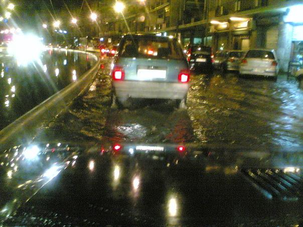 Il video del violento temporale su Messina