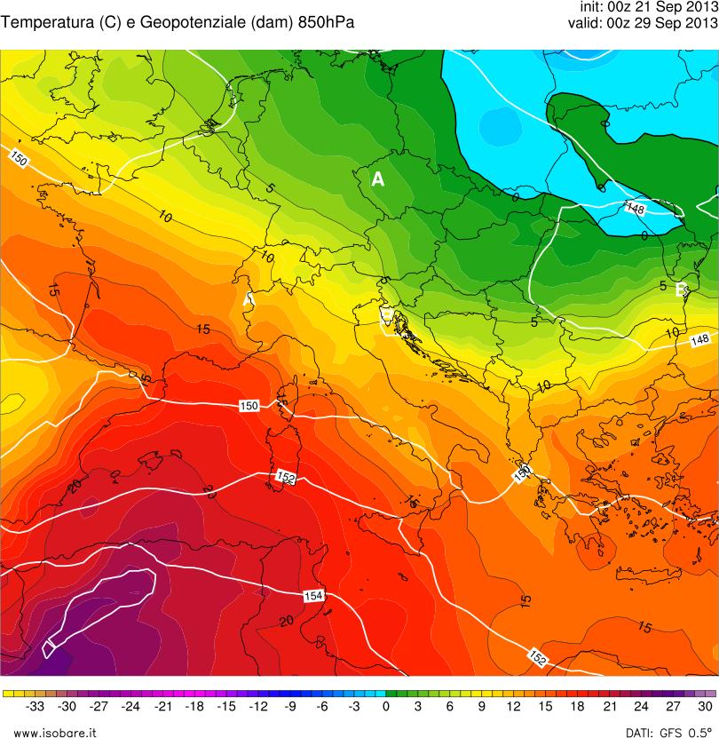 Alta pressione in netto rinforzo da lunedì, tempo stabile e caldo per giorni