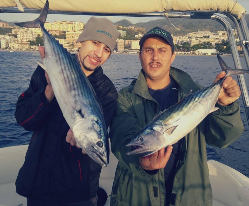 La pesca alla palamita nello Stretto di Messina