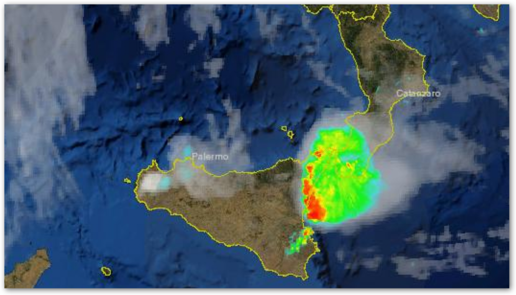 """ATTENZIONE da domani pomeriggio e fin verso la mattina del 7 rischio di una """"severa ondata piovosa"""""""