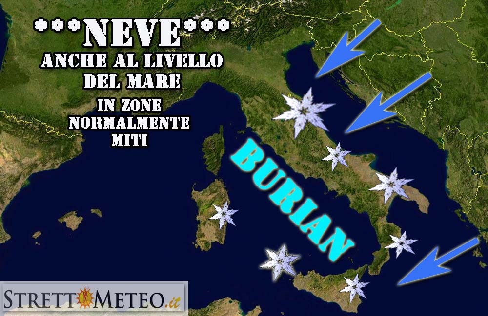 *******SNOW ALLERT IN ARRIVO PER MEZZA SICILIA******* EDIZIONE STRAORDINARIA!!!