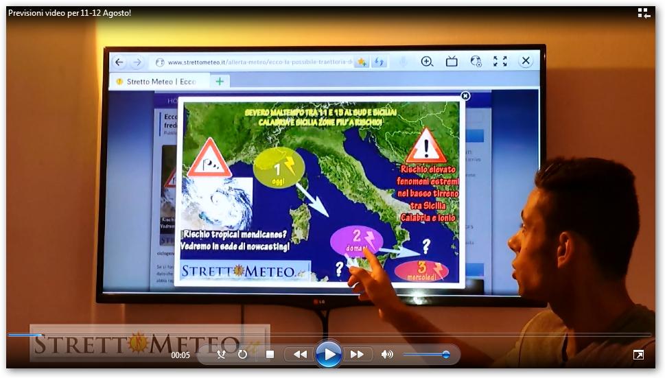 *** SPECIALE MALTEMPO 11-12 AGOSTO 2015 *** Considerazioni a cura di Giovanni Micalizzi, video!