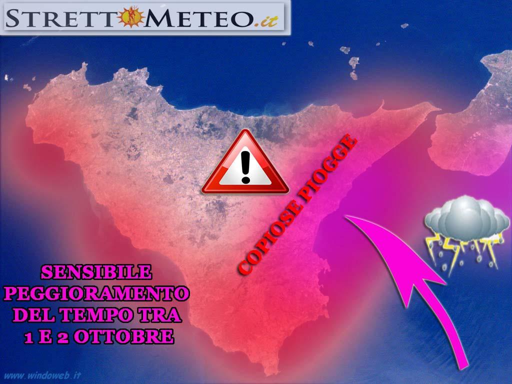 ****SPECIALE MALTEMPO**** SEVERO MALTEMPO IN ARRIVO tra 30 e 3 Ottobre rischio alluvione!