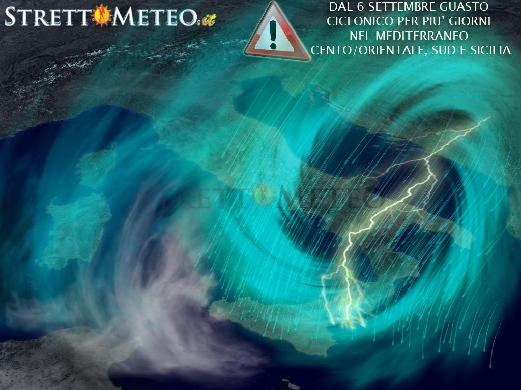 Tempo in peggioramento da martedì, in arrivo crollo termico e piogge per giorni