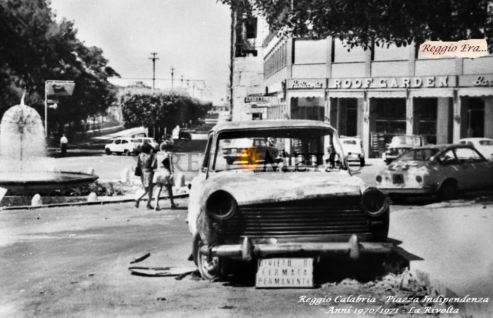 47 anni fa i moti di Reggio Calabria, raro video