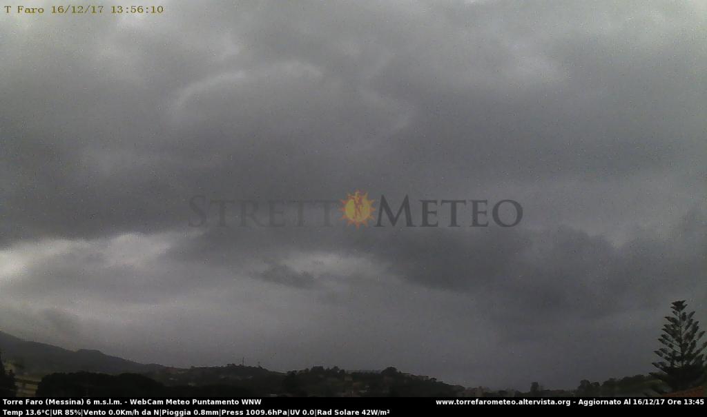Messina: sabato piogge con possibili pause, domenica più freddo