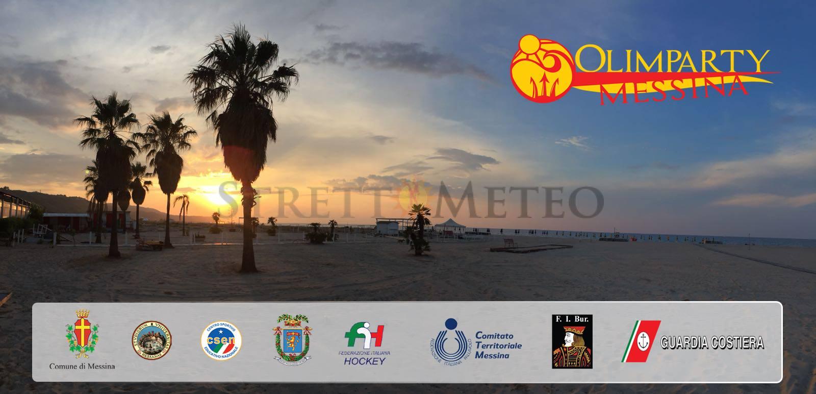 La VII edizione dell'Olimparty Messina esordisce con tempo stabile ed estivo!