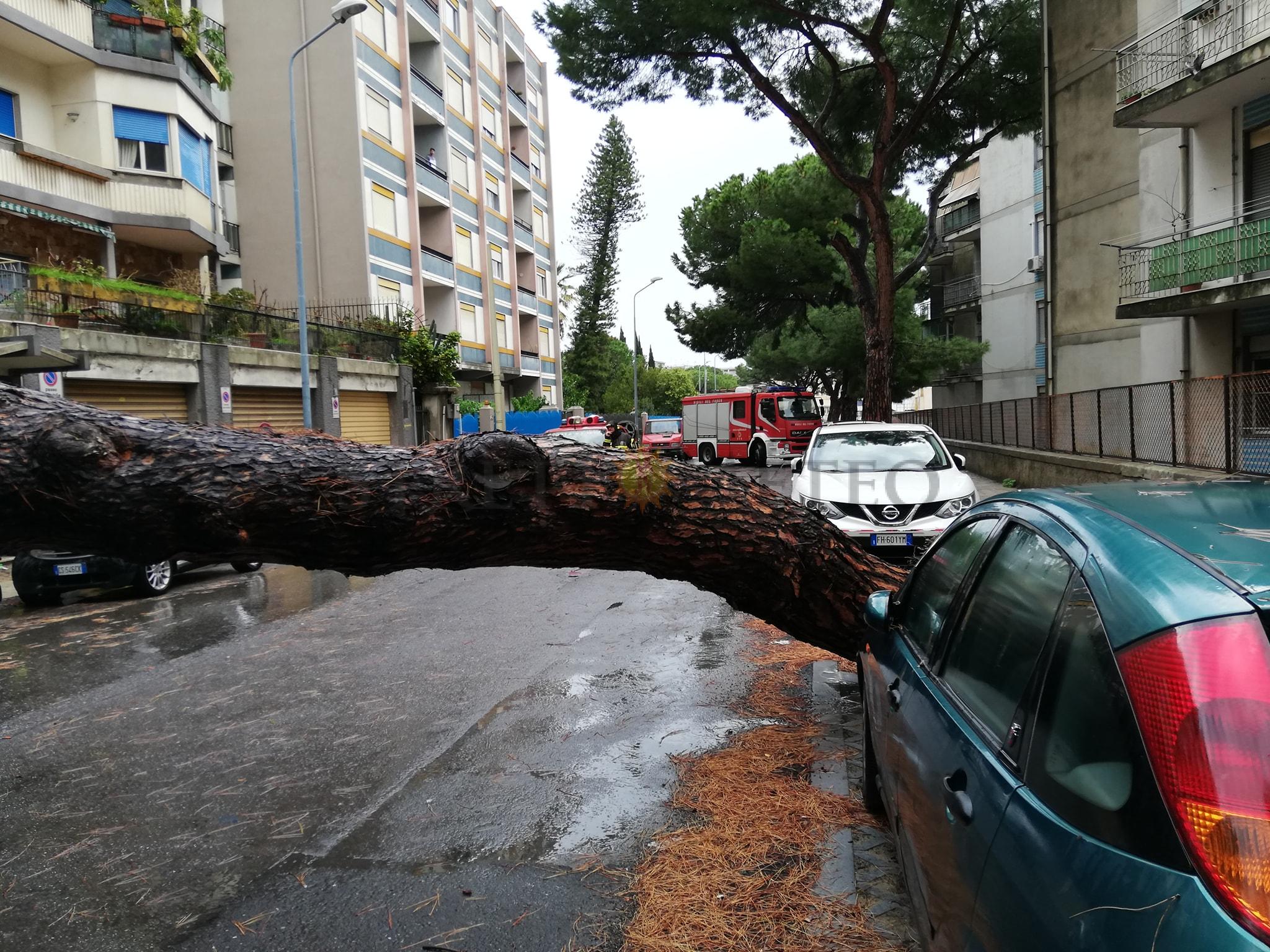 Ancora piogge sui Peloritani, scirocco impetuoso e mareggiate ioniche!