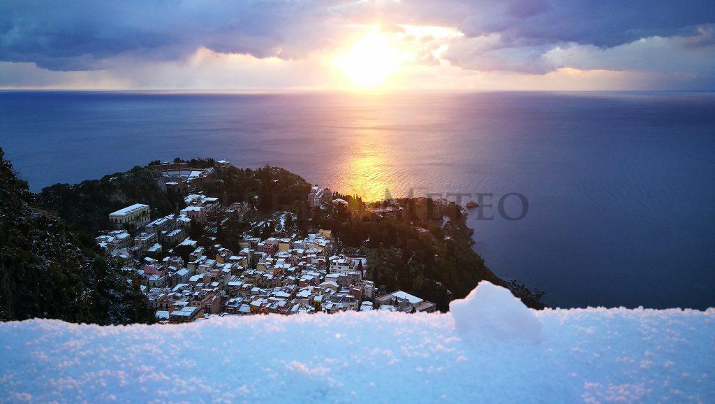 Evento nevoso mancato a Messina ma l'inverno non molla la presa!