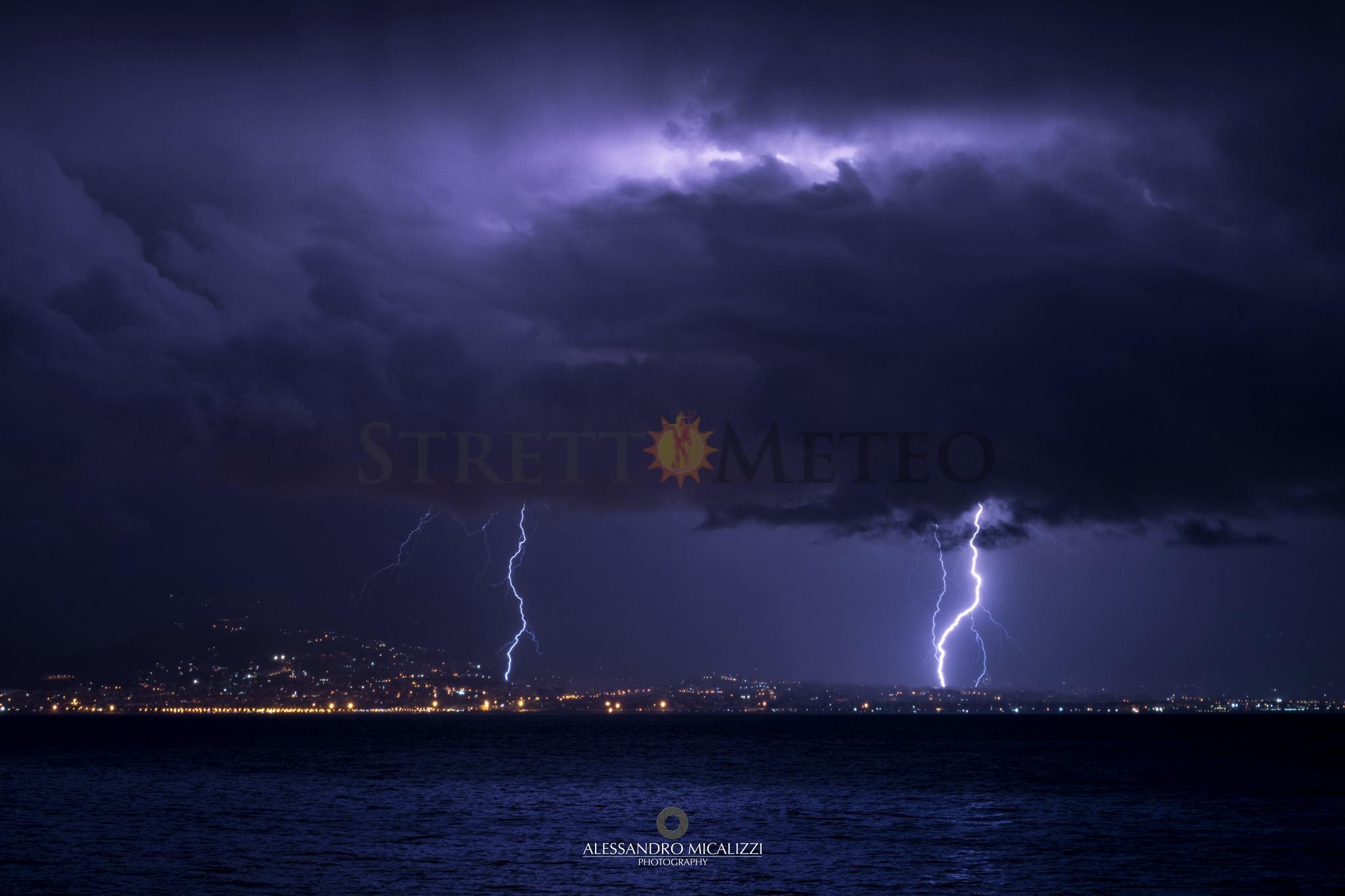 Inizio di settimana perturba sui settori ionici di Sicilia e Calabria. Neve copiosa sull'Etna!